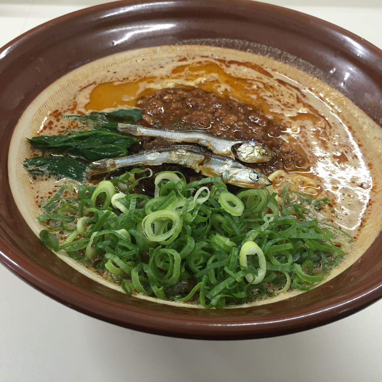 煮干し担々麺